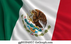 Wind - Flag Of Mexico