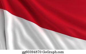 Indonesia - Flag Of Indonesia
