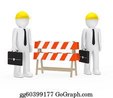 Trestle - Businessmen Barrier