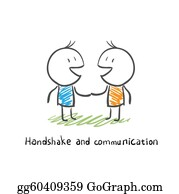 Group-Of-People - Handshake And Communication