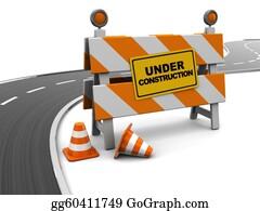 Roadworks - Road Under Construction