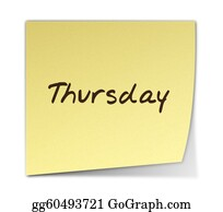 Weekday - Thursday