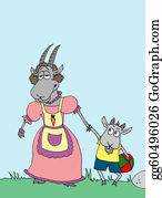 Goat-Cartoon - Animal