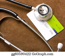 Health-Insurance-Card - Stethoscope On A Credit Card