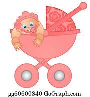 Granddaughter - Baby Girl In Stroller
