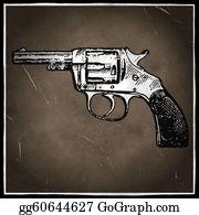 Antique-Pistols - Vintage Revolver
