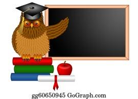 Professor - Wise Owl Professor Illustration