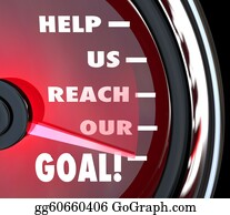 Fundraiser - Help Us Reach Our Goal Speedometer Fundraiser Support