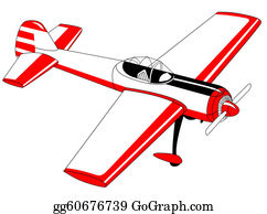 Black-White-Mode - Plane Drawing On White Background,