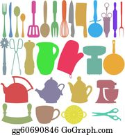 Utensils - Colour Kitchen Objects