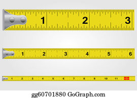 Millimeter - Tape Measure Illustration