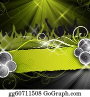 Football-Abstract - Green Vector Party Design