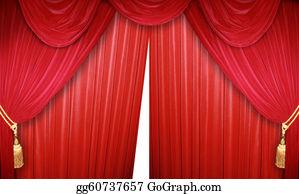 Stage-Curtain - Elegant Theater Curtain