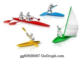 Canoe - Sports Symbols Icons Series 3
