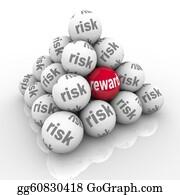 Challenges - Risk Vs Reward Pyramid Balls Return On Investment
