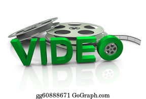 Movie-Production - 3d Movie Reel