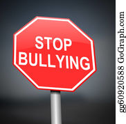Rudeness - Stop Bullying Sign.