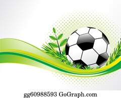 Football-Abstract - Abstract Eco Background With Football