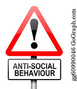 Rudeness - Anti-Social Behaviour Warning.