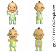 Sad-Child - Cartoon Baby Pack - 2of2