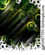 Football-Abstract - Football Party/event Design