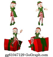 Wrap - Christmas Elf Pack - 1of6