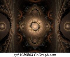 Paisley-Art - Paisley Abstract Fractal Design