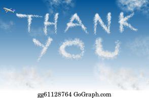 Appreciation - Thank You On Sky