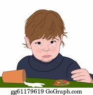 Sad-Child - Child Crying Over Spilled Milk