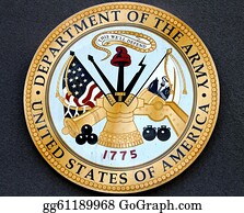 Military-Eagle-Emblem - Department Of The Army Usa