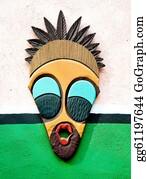 Tiki-Mask - The Decorative African Mask