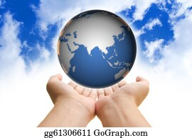Ecological-Awareness - Globe In Hand