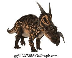 Horned-Lizard - Einiosaurus