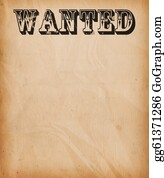 Tack - Vintage Wanted Poster Background