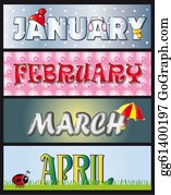 Color-Rain - January February March April