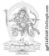Buddhist - Kurukulla Buddhist Deity