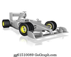 Formula-1-Racing-Car - F1