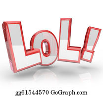 Humor - Lol Abbreviation Laugh Out Loud Funny Expression