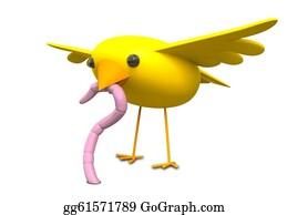 Bird-Feeder - The Early Bird Catches The Worm