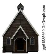 Church-Building - Vintage Style Church