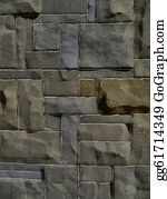 Wall-Background - 3d Natural Stone Wall Background
