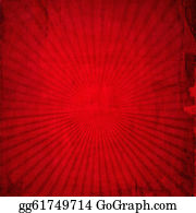 Classic-Victorian-Pattern - Red Vintage Background For Your Design