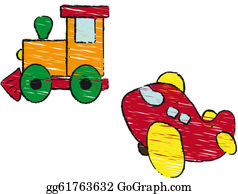 Funny-Toy-Train - Train And Plane