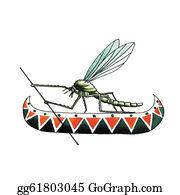Mosquito - Pontomyia Natans