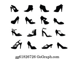Shoes - Women Heel Shoes Silhouettes
