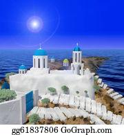 Church-Building - Greece Style Building