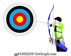 Shooting-Range - Archer With Bow