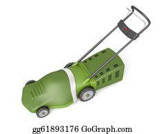 Lawn-Mower - Green Lawn Mower