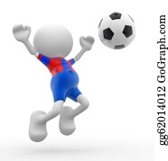 Football-Abstract - Football Player