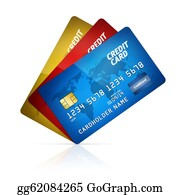 Economy - Credit Card Collection Isolated